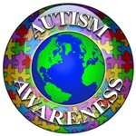 autism awareness puzzle button