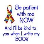 autism puzzle ribbon be patient t-shirt