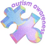 asperger's autism awareness 3D puzzle piece t-shirt